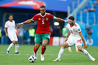 Mehdi Benatia (Morocco) Karim Ansarifard (Iran)<br /> Saint Petersburg 15-06-2018 Football FIFA World Cup Russia  2018 <br /> Morocco - Iran / Marocco - Iran <br /> Foto Matteo Ciambelli/Insidefoto