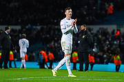 Leeds United defender Ben White (5) reacts during the EFL Sky Bet Championship match between Leeds United and Hull City at Elland Road, Leeds, England on 10 December 2019.
