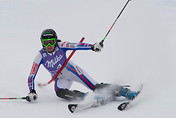 19.12.2010, Val D Isere, FRA, FIS World Cup Ski Alpin, Ladies, Super Combined, im Bild Marion Pellissier (FRA) gets hit across the chest with a control gate whilst competing in the Slalom section of the women's Super Combined race at the FIS Alpine skiing World Cup Val D'Isere France. EXPA Pictures © 2010, PhotoCredit: EXPA/ M. Gunn / SPORTIDA PHOTO AGENCY