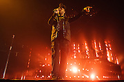 """Photos of The Weeknd performing live for """"The Madness Fall Tour"""" at Prudential Center in Newark, NJ on November 11, 2015. © Matthew Eisman/ Getty Images. All Rights Reserved"""