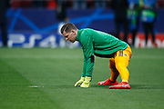 Wojciech Szczesny of Juventus warms up before the UEFA Champions League, round of 16, 1st leg football match between Atletico de Madrid and Juventus on February 20, 2019 at Wanda metropolitano stadium in Madrid, Spain - Photo Oscar J Barroso / Spain ProSportsImages / DPPI / ProSportsImages / DPPI