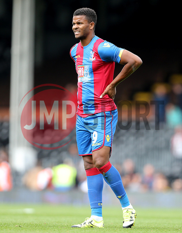 Fraizer Campbell of Crystal Palace - Mandatory by-line: Paul Terry/JMP - 07966386802 - 01/08/2015 - SPORT - FOOTBALL - Fulham,England - Craven Cottage - Fulham v Crystal Palace - Pre-Season Friendly