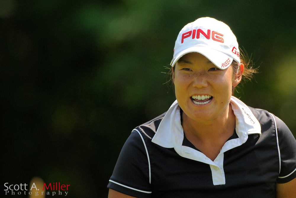 Tiffany Joh during the first round of the US Women's Open at Blackwolf Run on July 5, 2012 in Kohler, Wisconsin. ..©2012 Scott A. Miller