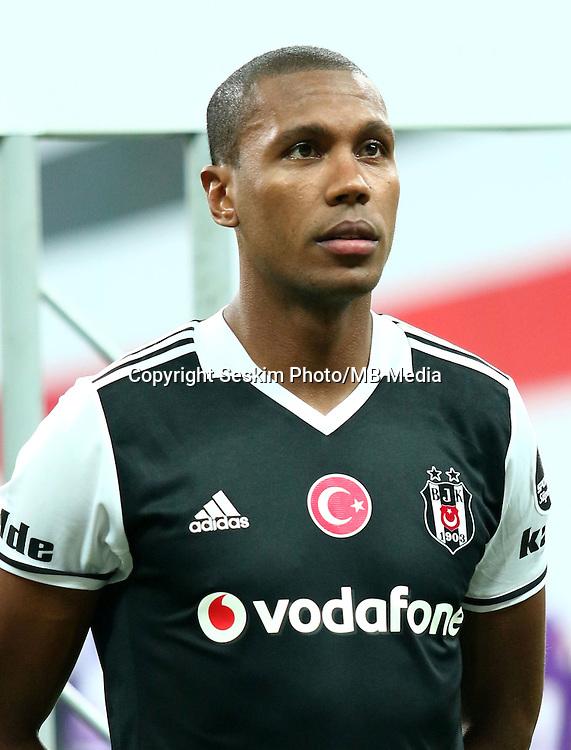 Turkey superlig match between Besiktas and Alanyaspor at Vodafone Arena in Istanbul , Turkey on August 20 , 2016.<br /> Final Score : Besiktas 4 - Alanyaspor 1<br /> Pictured: Marcelo of Besiktas.