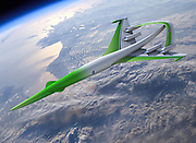 The race to build a successor to Concorde: Boeing, Gulfstream and Nasa join forces to create a supersonic jet capable of flying from London to Sydney in FOUR HOURS<br /> <br /> Aircraft enthusiasts are waiting with growing anticipation for the unveiling of plans for a supersonic jet that may be able to fly London to Sydney in just four hours.<br /> U.S. builders - helped by the Nasa space agency - will reveal the prototype successors to Concorde at the Farnborough air show next month.<br /> Boeing, Lockheed Martin and Gulfstream are leading the way to build the new supersonic passenger plane which will be targeted at first at the business jet market.<br /> All three companies believe they are close to reduce the sonic boom to a sound described by a Gulfstream engineer last week as 'closer to a puff or plop'.<br /> He said: 'The fact that the big boys are all close confirms industry rumours that a new generation of supersonic planes is now, finally, within reach.<br /> Lighter composite materials, more advanced engines and smaller fuselages could enable new jets to travel about twice as fast as Concorde, which flew at up to 1358mph, according to the Sunday Times.<br /> Passengers will travel at speeds of more than 2,485mph, allowing them to cruise in luxury from London to Sydney, just over 12,000 miles away.<br /> Currently, the fastest subsonic executive jet, Gulfstream's new G650, can fly 7,000 miles at a  646mph and has a top speed of just 704mph.<br /> <br /> But its successor , codenamed X-54, will 'prove that an aircraft can be shaped for low sonic boom', reports Aviation Week & Space Technology magazine.<br /> It will be 'sketched out' at Farnborough along with other supersonic prototypes, say show executives.<br /> Last January, NASA released images of a test plane in a wind tunnel which suggested the sonic boom could be virtually silenced using super-thin wings and hidden engines.<br /> Robert Bass, a Texas hedge fund trader, has banked 50 $200,000 deposits for his company's Aerion SBJ supersonic jet after enlisting Nasa's help - even thou