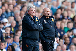 Hull City Manager Steve Bruce looks frustrated - Photo mandatory by-line: Rogan Thomson/JMP - 07966 386802 - 16/05/2015 - SPORT - FOOTBALL - London, England - White Hart Lane - Tottenham Hotspur v Hull City - Barclays Premier League.