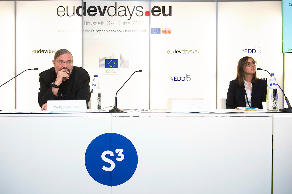 03 June 2015 - Belgium - Brussels - European Development Days - EDD - Jobs - Managing business impacts on sustainable development © European Union