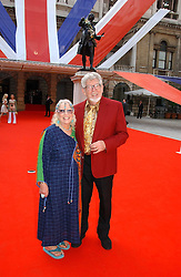 Artist ROLF HARRIS and his wife ALWEN at the Royal Academy of Art's SUmmer Party following the official opening of the Summer Exhibition held at the Royal Academy of Art, Burlington House, Piccadilly, London W1 on 7th June 2006.<br /><br />NON EXCLUSIVE - WORLD RIGHTS