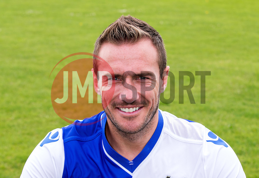 Liam Lawrence of Bristol Rovers - Mandatory by-line: Robbie Stephenson/JMP - 04/08/2016 - FOOTBALL - The Lawns Training Ground - Bristol, England - Bristol Rovers Head Shots