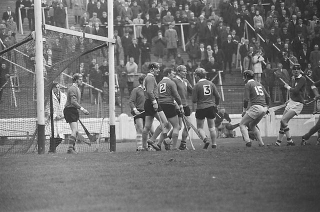 17.03.1971.Interprovincial Hurling Railway Cup. Leinster v. Munster.