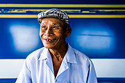 Here&rsquo;s a smile to get you started on Monday morning! A man on a ferry as I traveled through the Mekong delta this weekend on a private photo tour with @mpapaeracleous and @saigonphototours<br /> <br /> As I wandered the ferry looking for a character (and they&rsquo;re always are a few!), this lovely gentleman said hello to me before I could him, and I knew we had to make a frame. I quickly scramble to find the angle, outside was too bright, and the inside too busy with cars. Then I come around to parallel with him, and notice the beautiful blue truck he&rsquo;s standing in front of. Boom, there was my background, perfect! <br /> <br /> Much more of the Mekong to come this week&hellip;.