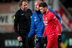 Danny Holla of FC Twente during the Dutch Eredivisie match between FC Twente Enschede and Willem II Tilburg at the Grolsch Veste on March 17, 2018 in Enschede, The Netherlands