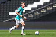 Forest Green Rovers Nathan McGinley(19) on the ball during the EFL Sky Bet League 2 match between Milton Keynes Dons and Forest Green Rovers at stadium:mk, Milton Keynes, England on 15 September 2018.