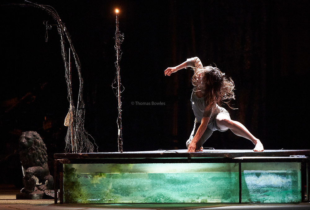 London, UK. 5th May 2017. James Thierree / Compagnie du Hanneton presents The Toad Knew at Sadler's Wells Theatre.  <br /> James Thierree, press night 3rd May 2017.