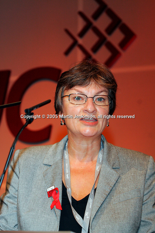 Christine Blower, NUT Deputy General Secretary, speaking at the TUC...© Martin Jenkinson, tel 0114 258 6808 mobile 07831 189363 email martin@pressphotos.co.uk. Copyright Designs & Patents Act 1988, moral rights asserted credit required. No part of this photo to be stored, reproduced, manipulated or transmitted to third parties by any means without prior written permission