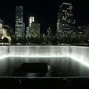 National september 11 memorial (ground zero) New York city, Downtown Manhattan,