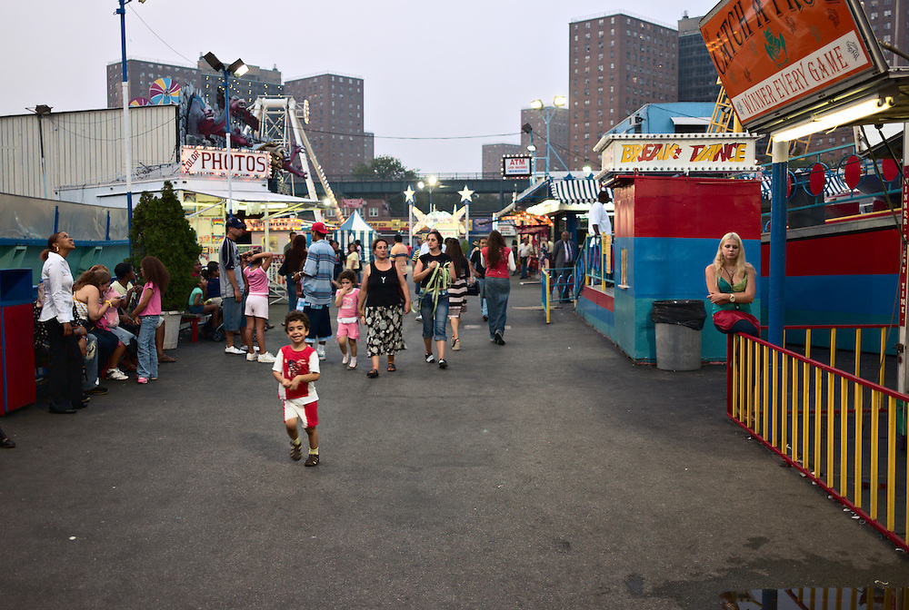Astroland amusement park, Coney Island, New York