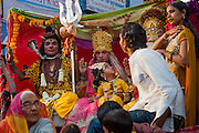 Indian religious festival in Pushkar (India)