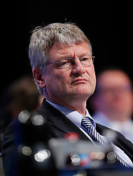 30.04.2016, Messe, Stuttgart, GER, 5. Bundesparteitag der AfD, im Bild Prof. Dr. Joerg Meuthen, Vorsitzender der AFD // during the 5th party convention of the Alternative for Germany (AfD) at the Messe in Stuttgart, Germany on 2016/04/30. EXPA Pictures © 2016, PhotoCredit: EXPA/ Sammy Minkoff<br /> <br /> *****ATTENTION - OUT of GER*****