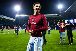 Jack Grealish of Aston Villa celebrates after his side win on penalties against West Bromwich Albion to book their place in the Sky Bet Championship Playoff Final - Mandatory by-line: Robbie Stephenson/JMP - 14/05/2019 - FOOTBALL - The Hawthorns - West Bromwich, England - West Bromwich Albion v Aston Villa - Sky Bet Championship Play-off Semi-Final 2nd Leg