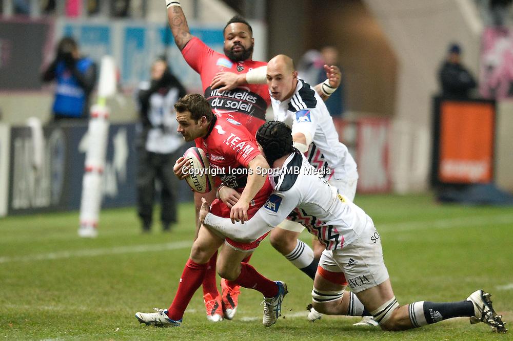 Nicolas Sanchez - 28.12.2014 - Stade Francais / Racing Club Toulon - 14eme journee de Top 14<br />Photo : Aurelien Meunier / Icon Sport