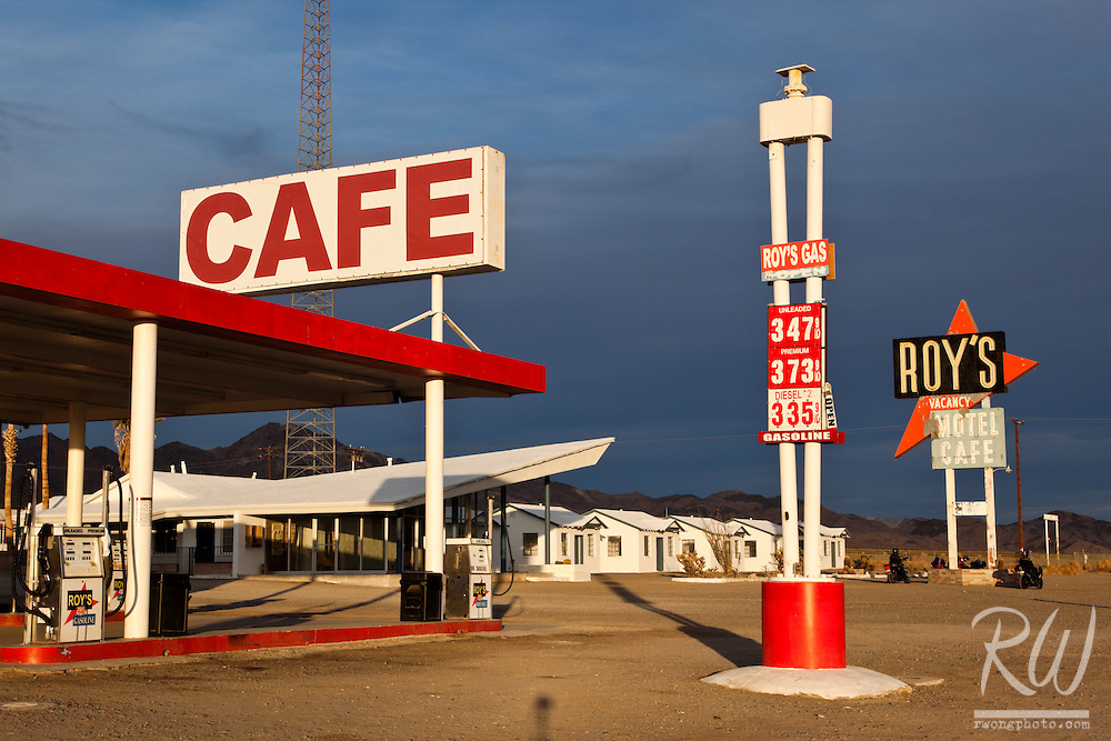 Roy's Motel and Cafe - Route 66, Amboy, California