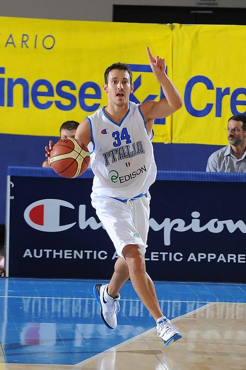 DESCRIZIONE : Bormio Torneo Internazionale Diego Gianatti Italia Iran<br /> GIOCATORE : Antonio Maestranzi<br /> SQUADRA : Nazionale Italia Uomini <br /> EVENTO : Torneo Internazionale Guido Gianatti<br /> GARA : Italia Iran<br /> DATA : 11/07/2010<br /> CATEGORIA : palleggio<br /> SPORT : Pallacanestro <br /> AUTORE : Agenzia Ciamillo-Castoria/GiulioCiamillo<br /> Galleria : Fip Nazionali 2010 <br /> Fotonotizia : Bormio Torneo Internazionale Diego Gianatti Italia Iran<br /> Predefinita :