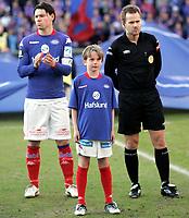 Fotball <br /> Tippeligaen Eliteserien <br /> 06.04.09 <br /> Ullevaal Stadion <br /> Vålerenga VIF - Tromsø TIL<br /> Maskot<br /> Foto - Kasper Wikestad