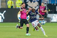 Fotball , 11. august 2019 , Eliteserien<br /> Strømsgodset - Vålerenga<br /> Moses Dramwi Mawa, Strømsgodset<br /> Foto: Christoffer Hansen , Digitalsport