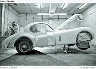 Jaguar 120XK Fixed Head coupe paintwork
