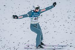 15.02.2020, Kulm, Bad Mitterndorf, AUT, FIS Ski Flug Weltcup, Kulm, Herren, im Bild Piotr Zyla (POL) // Piotr Zyla of Poland during his Jump for the men's FIS Ski Flying World Cup at the Kulm in Bad Mitterndorf, Austria on 2020/02/15. EXPA Pictures © 2020, PhotoCredit: EXPA/ Dominik Angerer