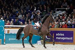Van Der Mei Nathalie (NED) - Heechiems Tersina<br /> Jumping Indoor Zuidlaren 2010<br /> © Hippo Foto - Leanjo de Koster