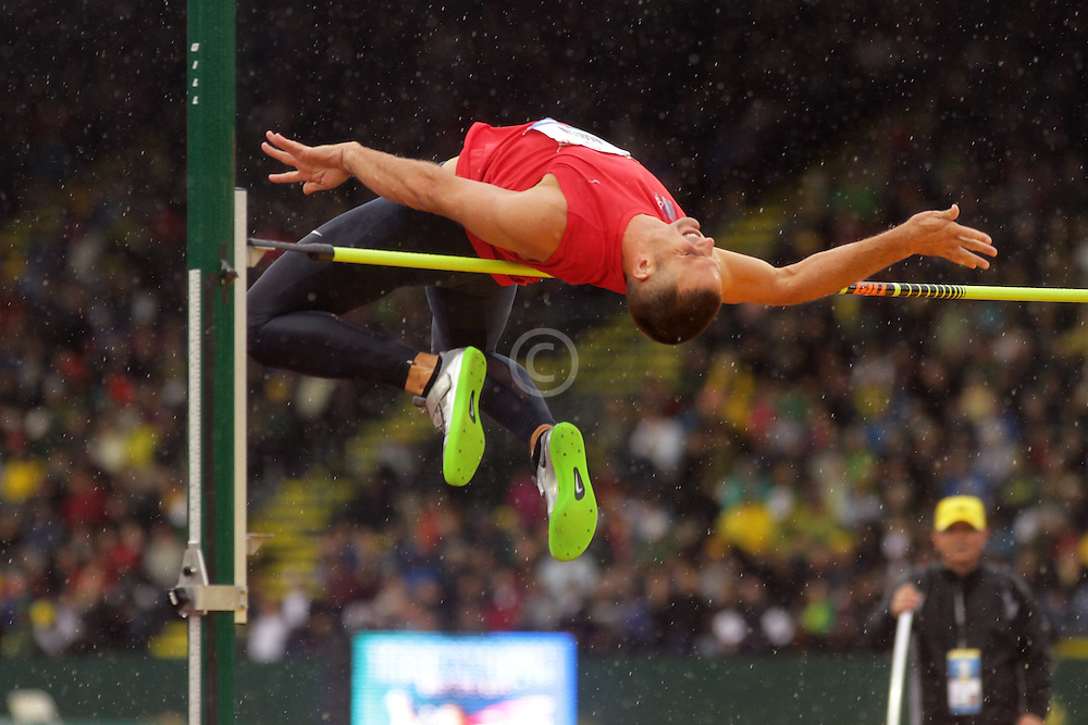 Olympic Trials Eugene 2012: decathlon high jump, Ryan Harlan