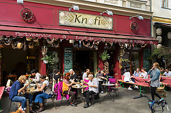 Knofi restaurant on Bergmannstrasse in Kreuzberg Berlin Germany