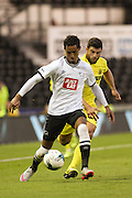 Tom Ince during the Pre-Season Friendly match between Derby County and Villarreal CF at the iPro Stadium, Derby, England on 29 July 2015. Photo by Aaron Lupton.