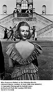 Miss Francesca Hobart at the Palladian Revels. Chiswick House, London. 25 June 1988. Film 88585f33<br />© Copyright Photograph by Dafydd Jones<br />66 Stockwell Park Rd. London SW9 0DA<br />Tel 0171 733 0108