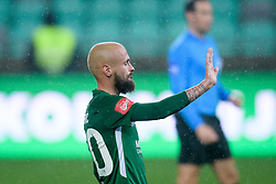 Goran Brkic during football match between NK Olimpija Ljubljana and NK Aluminij in semi final of Slovenian Cup 2018/19, on April 23, 2019 in Stozice Stadium, Ljubljana, Slovenia. Photo by Morgan Kristan