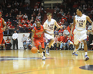 "Mississippi vs. LSU at the C.M. ""Tad"" Smith Coliseum on Thursday, March 4, 2010 in Oxford, Miss. Ole Miss won 72-59."