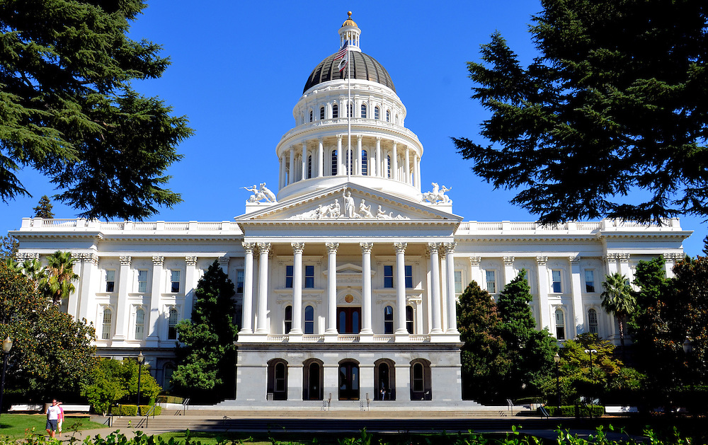 California State Capitol Building in Sacramento, California<br />