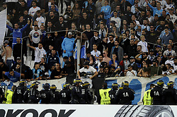 September 14, 2017 - Marseille, France - Supporters - CRS (Credit Image: © Panoramic via ZUMA Press)