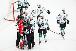 During Alps League Ice Hockey match between HDD SIJ Jesenice and HK SZ Olimpija on March 2, 2020 in Ice Arena Podmezakla, Jesenice, Slovenia. Photo by Peter Podobnik / Sportida