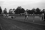 17/07/1967<br /> 07/17/1967<br /> 17 July 1967<br /> International Athletics at Santry Stadium, Dublin. Image shows  J. Pollock (45) of Poland winning the Ladies' 880yds International race. I Lincoln , (46) of Great  Britain was 2nd and A. McKenzie of South Africa took 3rd. The last two runners in the image are H. Tennyson, (19) Crusaders A.C. and J. Perry, (48) of Great Britain.