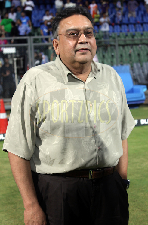 IPLchairman Chiryu Amin  during the IPL Season 4 eliminator match of the Indian Premier League between the Mumbai Indians and the Kolkata Knight Riders held at the Wankhede Stadium, Mumbai, India on the 25th May 2011..Photo by Sandeep Shetty/BCCI/SPORTZPICS