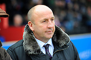 Accrington Stanley manager John Coleman  during the Sky Bet League 2 match between Exeter City and Accrington Stanley at St James' Park, Exeter, England on 23 January 2016. Photo by Graham Hunt.