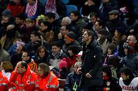 09.12.2012 SPAIN -  La Liga 12/13 Matchday 15th  match played between Atletico de Madrid vs R.C. Deportivo de la Courna (6-0) at Vicente Calderon stadium. The picture show Diego Pablo Simeone coach of Atletico de Madrid