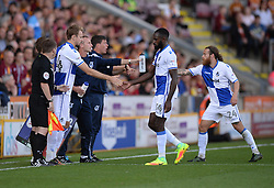 Chris Lines of Bristol Rovers replaces Hiram Boateng of Bristol Rovers - Mandatory by-line: Alex James/JMP - 17/09/2016 - FOOTBALL - Coral Windows Stadium - Bradford, England - Bradford City v Bristol Rovers - Sky Bet League One