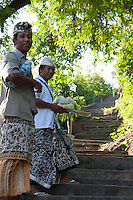 Nyoman and Made on the stairs to the Goa Giri Putri cave temple on Nusa Penida, Bali, Indonesia.jpg