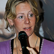 NLD/Amsterdam/20100310 - Presentatie van de 4de editie van het blad Helden, oud Roeister Kirsten van der Kolk