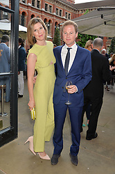 GUY & ELIZABETH PELLY at the V&A Summer Party in association with Harrod's held at The V&A Museum, London on 22nd June 2016.