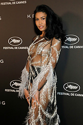 May 19, 2019 - Cannes, Alpes-Maritimes, Frankreich - Leyna Bloom at the Kering and Cannes Film Festival Official Dinner during the 72nd Cannes Film Festival at Place de la Castre on May 19, 2019 in Cannes, France (Credit Image: © Future-Image via ZUMA Press)